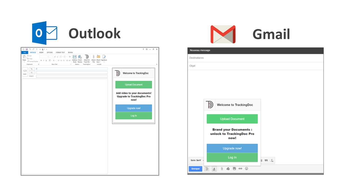 TrackingDoc Gmail Outlook Plugin
